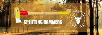 Splitting hammers