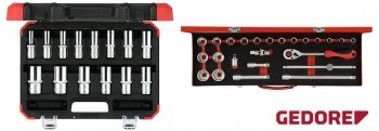 Socket sets 12.5mm - 1/2in.