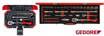Socket sets 6.3mm - 1/4in.
