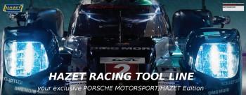 HAZET PORSCHE Motorsport Racing tool line