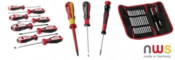 Screwdriver and sets