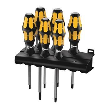Wera 05024410001 Screwdriver set Kraftform 977/6 TORX®, 6pcs.