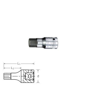 Stahlwille 01120004 INHEX-Screwdriver socket 44 K 4, size 4