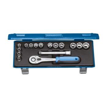 GEDORE 2682885 Socket set 30 JMU-10, 16pcs.