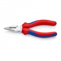 KNIPEX 08 25 145 Needle-Nose Combination Pliers, 145 mm