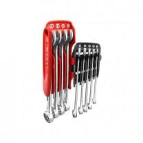 FACOM 440.JP9 Combination wrench set 9pcs., size 8 - 19 mm