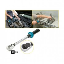HAZET 5110-2CT Torque wrench with ratchet, 10 - 60 Nm