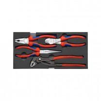 KNIPEX 00 20 01 V01 Bestseller-Pliers set, 4pcs