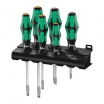 Wera 05007681001 Screwdriver set Kraftform Plus 334/355 SK/6, 6pcs.