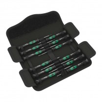 Wera Kraftform Micro 12 Universal 1 Screwdriver set for electronic applications (05073675001)