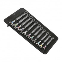 Wera 05020013001 Joker Combination ratchet wrench set in pouch, 11pcs.
