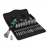 Wera 05004019001 Zyklop Speed-Ratchet set 8100 SA 9, 28pcs.