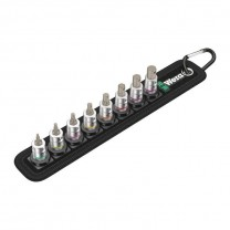Wera 05003881001 Belt A 2 Zyklop In-Hex-Plus bit socket set 1/4in., 8pcs.