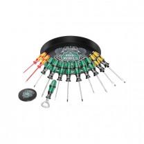 """Wera 05134340001 """"A round of screwdrivers Set 1"""", 17pcs."""