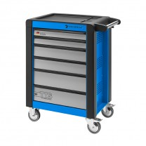 Stahlwille 81200012 Tool trolley 95/6B TTS blue, with 6 drawers