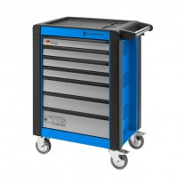 Stahlwille 81200017 Tool trolley 95/7B TTS blue, with 7 drawers