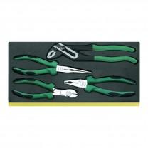 Stahlwille 96830622 Pliers set TCS 6501-6602/4N, 4pcs.