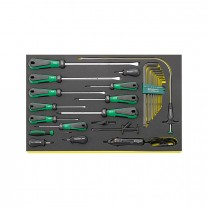 Stahlwille 96830706 Screwdriver set TCS 4724/4840+10767, 24pcs.