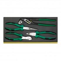 Stahlwille 96838179 Pliers set TCS 6501-6602/4, 4pcs.