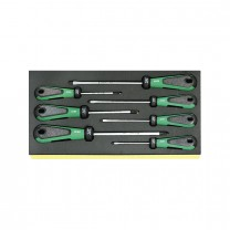 Stahlwille 96838184 Screwdriver set TCS 4820/4830, 7pcs.