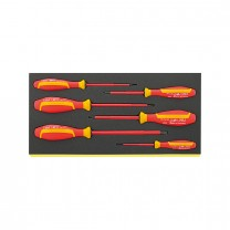 Stahlwille 96838766 VDE-Screwdriver set TCS 4660/4665, 6tlg.