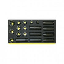 Stahlwille 96838777 Impact socket set TCS 50IMP/51IMP/19, 19pcs.