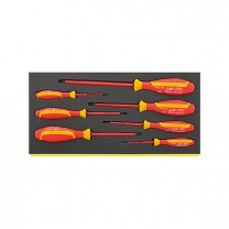 Stahlwille 96838785 VDE-Screwdriver set TCS 4665/4670, 7pcs.