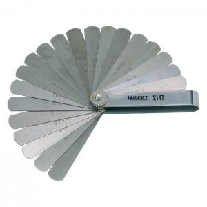HAZET 2147 Feeler gauge 0.05–1.0mm, 20pcs.