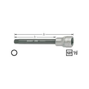 HAZET 2751 Screwdriver socket XZN, M 10