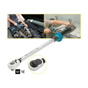HAZET 5122-2CT Torque wrench with ratchet, 40 - 200 Nm