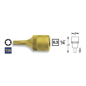 HAZET 8502-T30 TORX®-Screwdriver socket, size  T30
