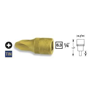 HAZET Screwdriver socket 8506, size PH1 - PH4