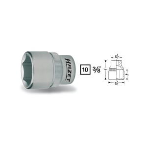 HAZET 880-16 6point socket, size 16 mm