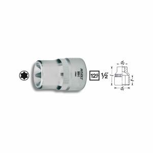HAZET TORX®-Socket 900E, size E10 - E24