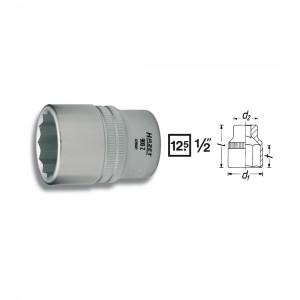 HAZET 12point socket 900Z, size 8 - 36 mm