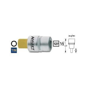 HAZET Screwdriver socket Inhex 986, size 4 - 22 mm