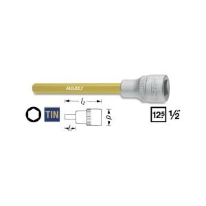 HAZET Screwdriver socket 986SLg, size 6 - 8 mm