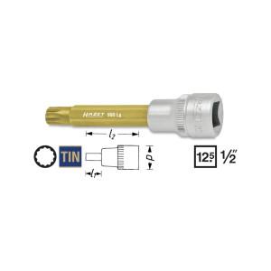 HAZET Screwdriver socket 990Lg XZN, M 6 - M 14