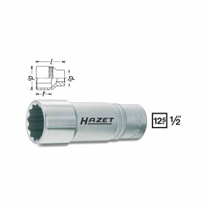 HAZET 12point socket 900TZ, size 10 - 32 mm