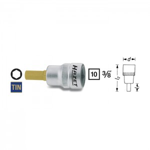 HAZET 8801K-3 Screwdriver socket, size 3 mm