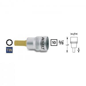 HAZET 8801K-6 Screwdriver socket, size 6 mm