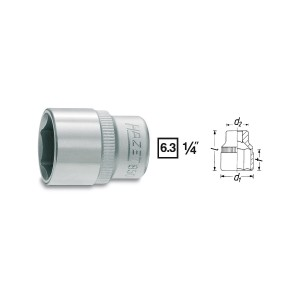 HAZET HINOX® 6point socket 850X, sw 4 - 14 mm