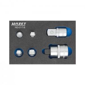 HAZET 163-217/6 Adapter-Set, 6pcs.