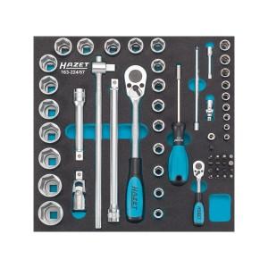 HAZET 163-224/57 Socket set, 57pcs.