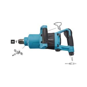 "HAZET 9014MG-1 Impact wrench 25.0mm - 1"""