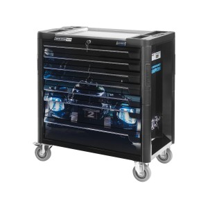 HAZET 179XL-7PDB Tool trolley PORSCHE/HAZET Limited Edition