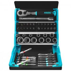 HAZET 2200SC-2 Socket set SmartCase, 50pcs.