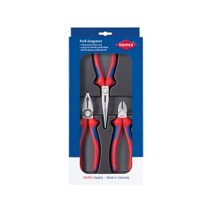 KNIPEX 00 20 11 Assembly pliers set, 3pcs.