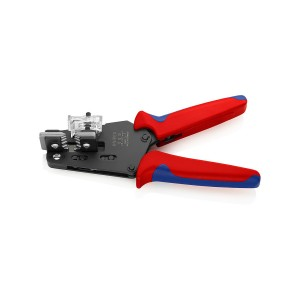KNIPEX 12 12 10 Präzisions-Abisolierzange mit Formmessern, 195mm