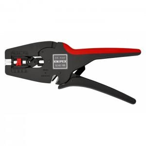 KNIPEX 12 42 195 Automatic Insulation Stripper MultiStrip 10, 195 mm